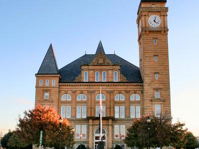 Tipton County Courthouse In Tipton
