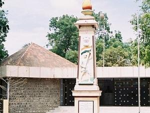 Tiruppur Kumaran Memorial Estátua