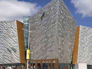 Titanic Belfast Entrance Ticket: Titanic Visitor Experience Photos