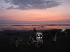Tithal Beach Sun Set