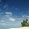 White Sandy Beach At Titikaveka.