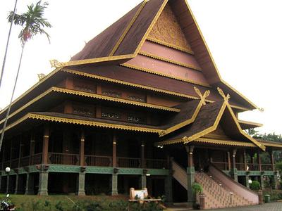 TMII Riau Pavilion Malay House