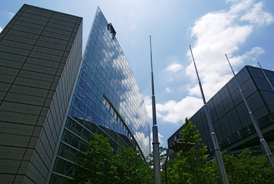 Exterior Of Tokyo International Forum