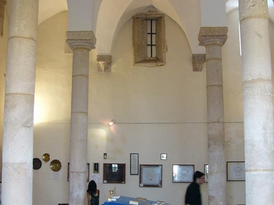 Interior Of The Tomar Synagogue