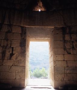 Tomb Of Clytemnestra  Inside View