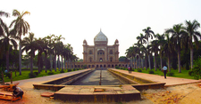Tomb Of Safdarjung Panorama