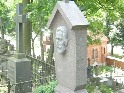Tomb Of  Antanas  Vivulskis In  Vilnius  Rasos Cemetery