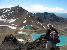 Tongariro Crossing - Emerald Lake Views
