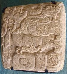 Toniná Glyph - Chiapas - Mexico