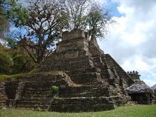 Toniná Pyramid - Chiapas - Mexico