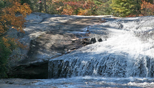Top Bridal Veil Falls - Dupont State Forest NC