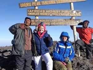 Mount Kilimanjaro and After Trek Safari Photos