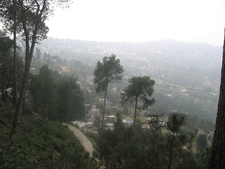 Aerial View Of Ranikhet