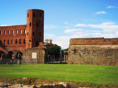 The Roman Palatine Towers