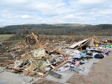Tornado Damage Clinton