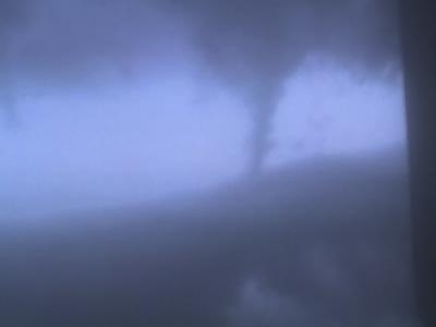 Tornado Over  Hickory  Hills