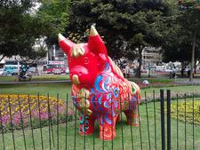 Toro En Parque Kennedy