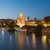 Torre Del Oro Golden Tower In Seville - Spain Andulasia