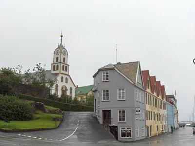 Tórshavn Cathedral And Harbourside Buildings