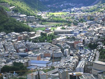 View Of Andorra La Vella