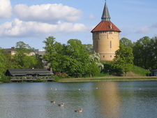 Pildammsparken With The Old Water Tower