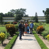 Tourists At Mahasthangarh Site Museum