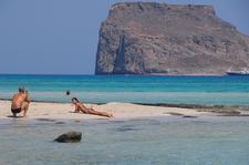 Tourists @ Balos Lagoon