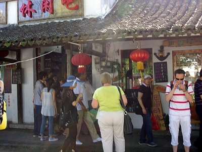 Tourists In Xitang