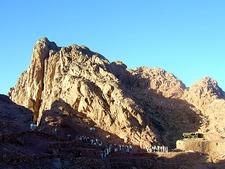Tourists Over Mount Sinai - Egypt