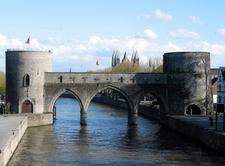 Bridge On The Scheldt River