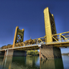 Tower Bridge California In Sacramento