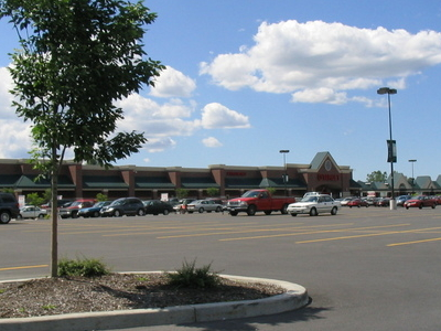 Town  Center In The Village Of  Fayetteville In  New  York