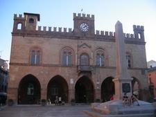 Town Hall And Garibaldi Obelisk