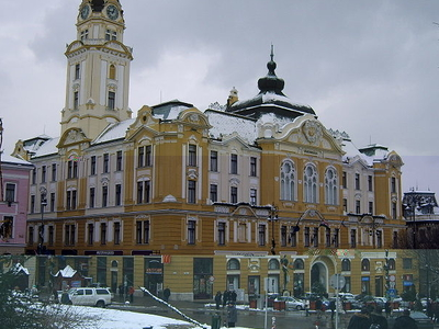 Town Hall, Pécs, Hungary
