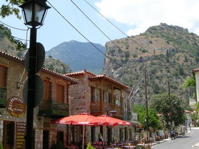 Town Of Mystras