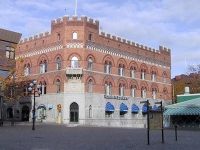 The Town Square Stora Torget In Central Örnsköldsvik.