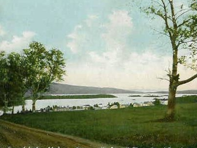 Town View In 1907