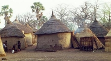 Traditional Homes In Burkina Faso