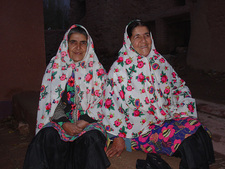 Traditional Women Dress In Kashan City