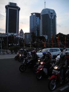 Traffic Merdeka Square