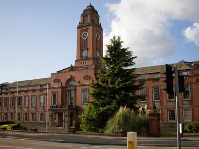 Trafford Town Hall In Stretford