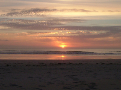 Traigh  Sunset