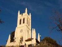 Christ Church In The Heart Of Shimla.