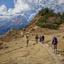 Trekking Above Namche Bazaar