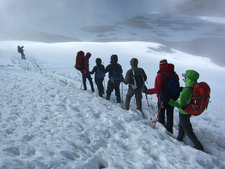Trekking Inside The Volcano Crater - Kilimanjaro