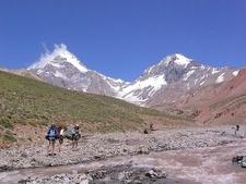 Trekking Mount Aconcagua Provincial Park In Argentina