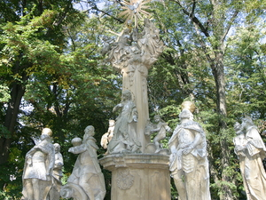 Estatua Trinidad