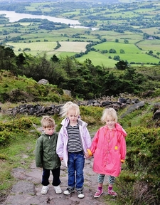 Trio On The Roaches Trail UK Staffordshire