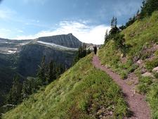 Triple Divide TrailAt Glacier - Montana - USA