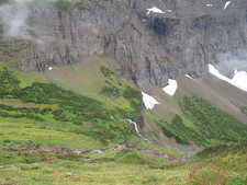 Triple Divide TrailHike - Glacier - Montana - USA